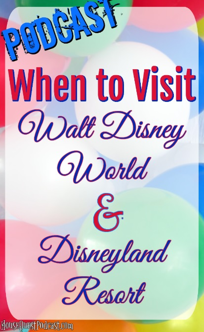 When to Visit Walt Disney World