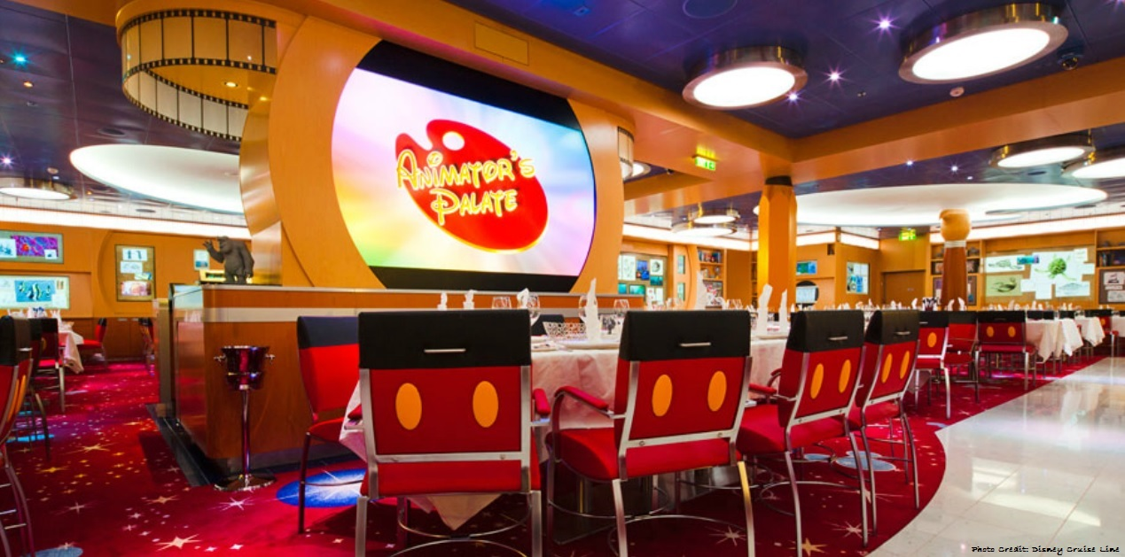Animators Palate Disney Cruise Line