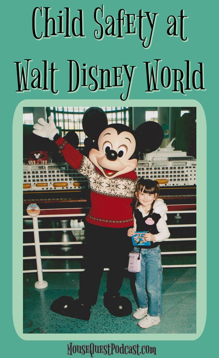 Child Safety at Walt Disney World