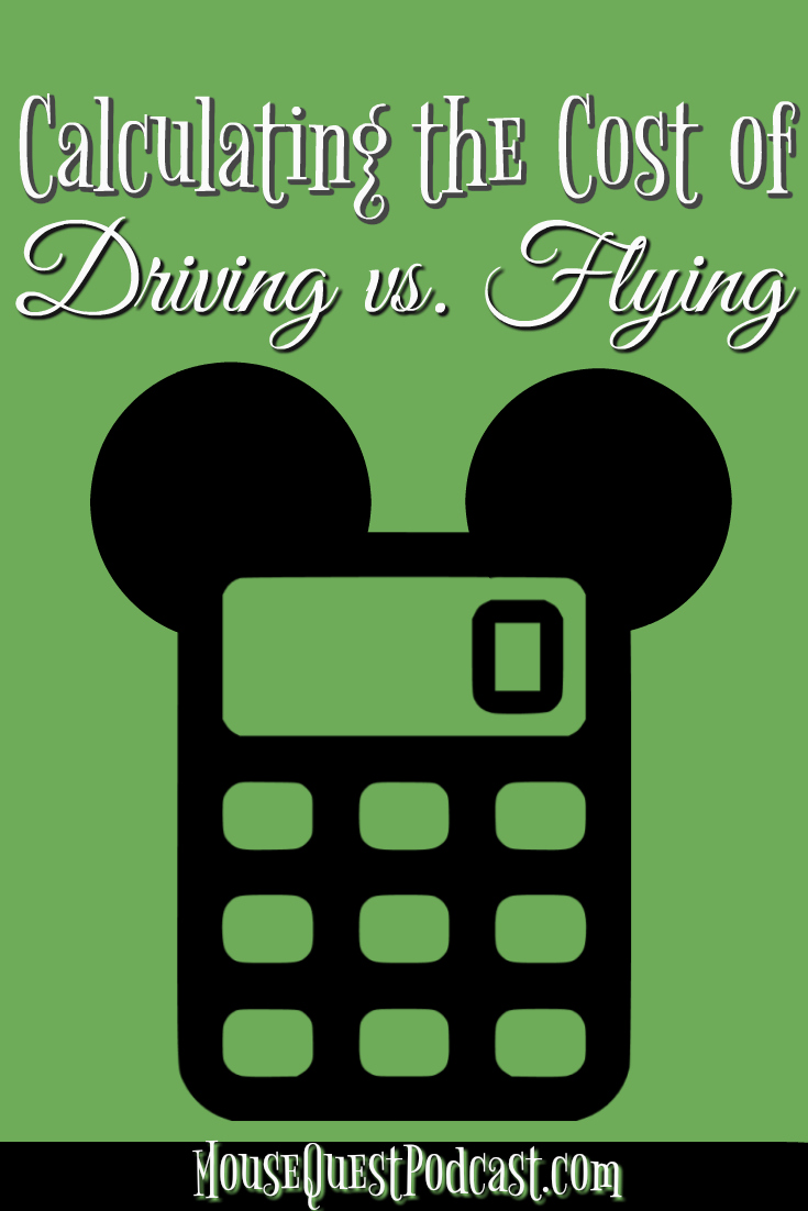 Calculating Cost of Driving vs. Flying