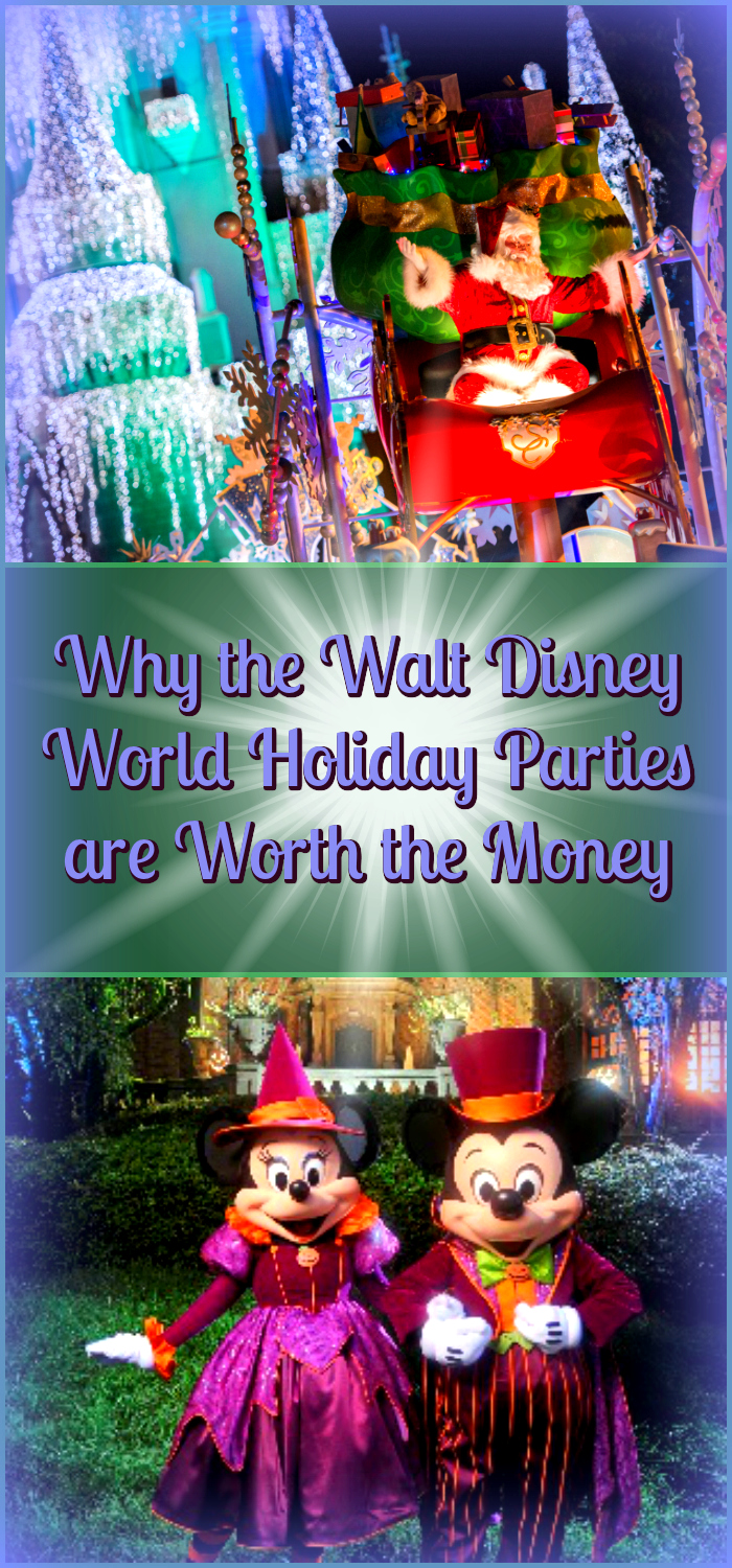 Why the Walt Disney World Holiday Parties are Worth the Money