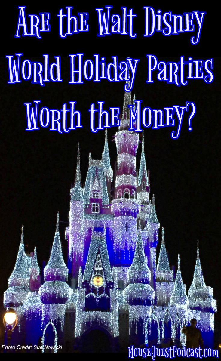 Walt Disney World Holiday Parties