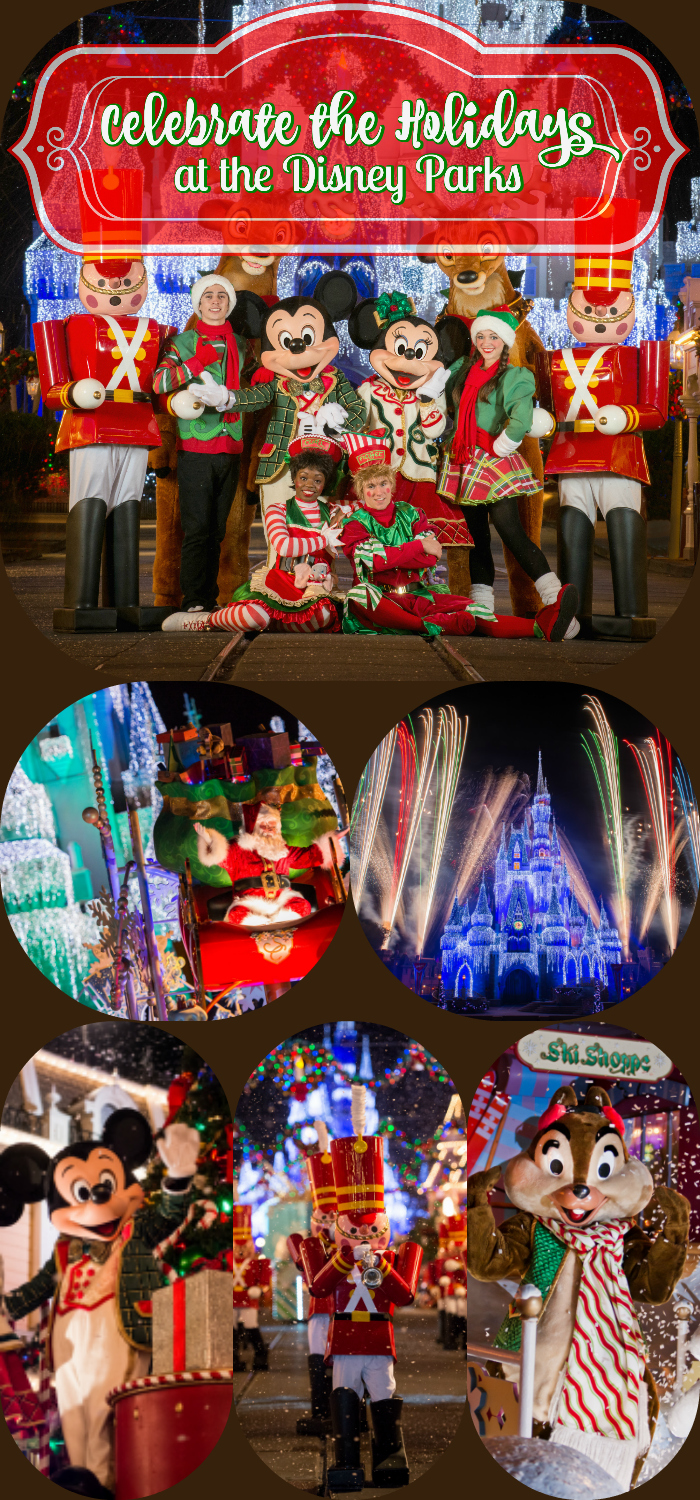 Celebrate the Holidays at the Disney Parks