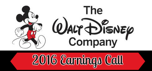 Walt Disney Company Earnings Call