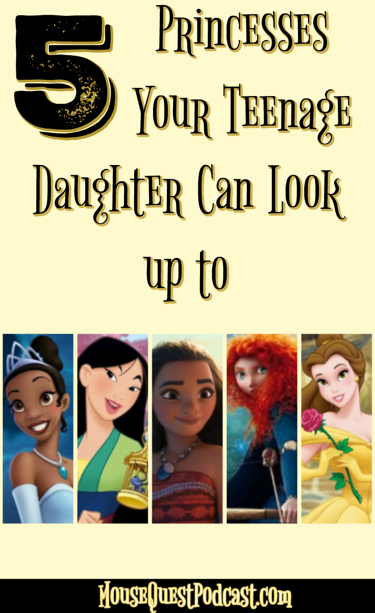 Disney Princesses to Look Up To