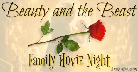 Beauty and the Beast Family Movie Night