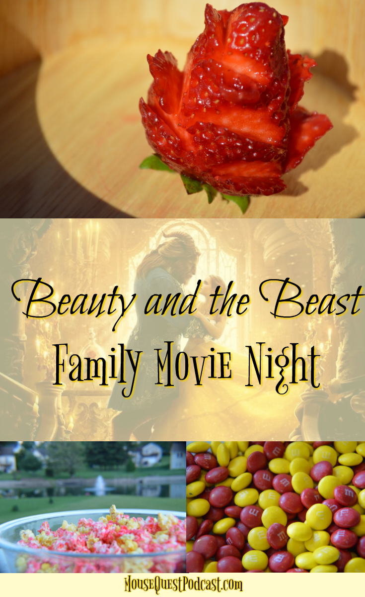 Beauty and the Beast Family Movie Night