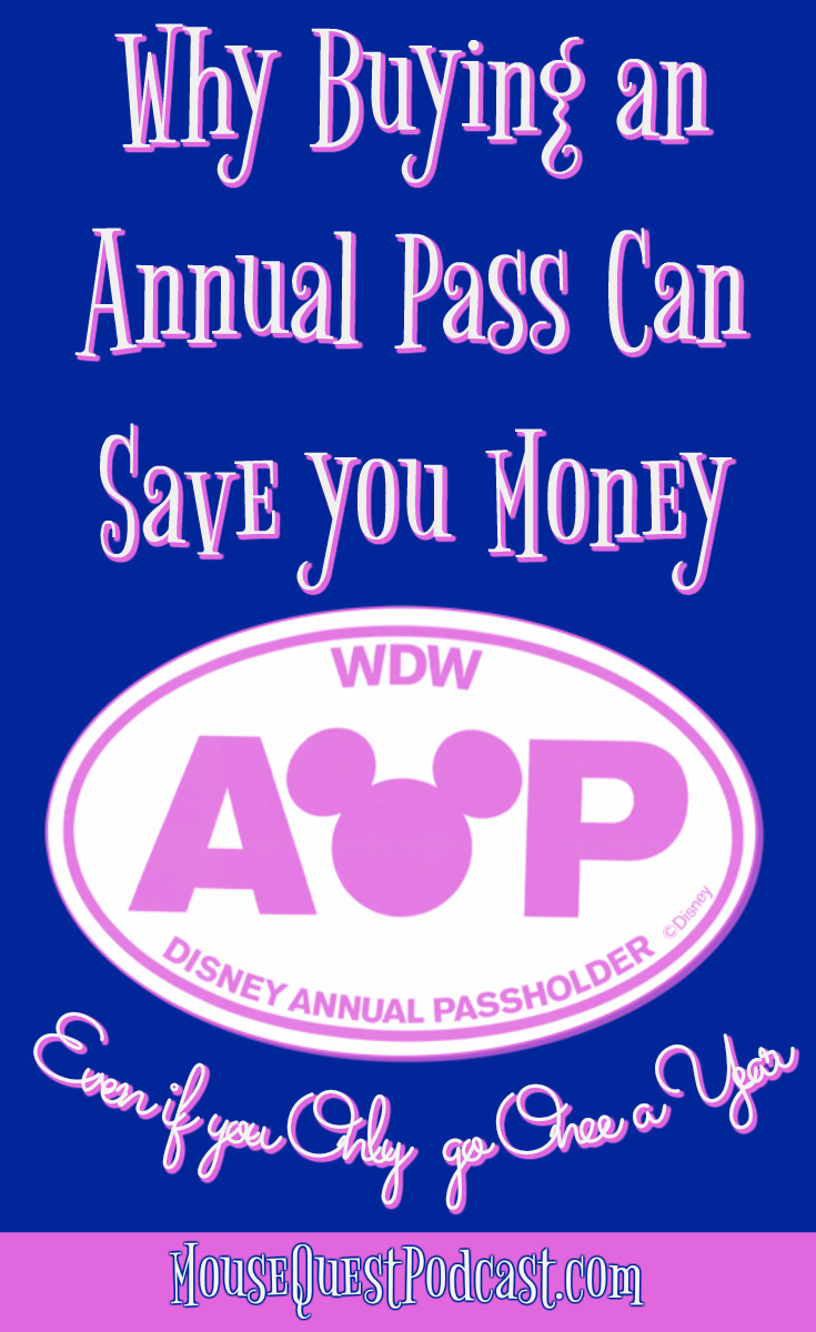 Buying a Disney Annual Pass