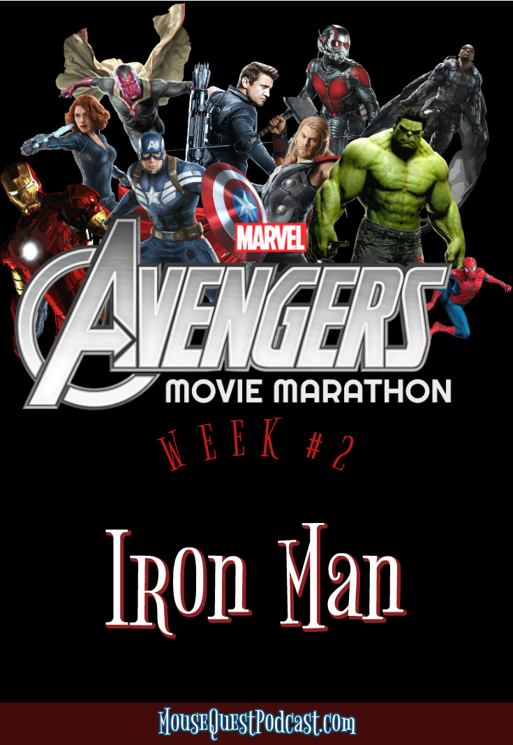 Marvel Movie Marathon Iron Man