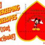 Easy Disney Mousekeeping Envelopes Using PicMonkey