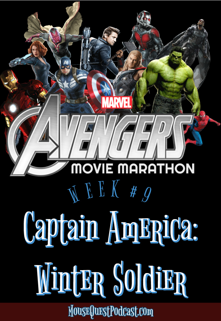 Marvel Movie Marathon Captain America Winter Soldier