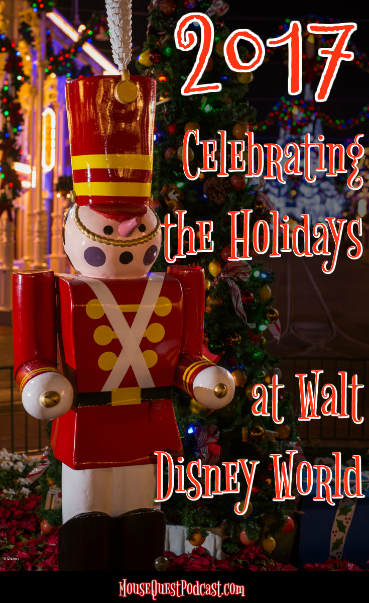 Celebrate the Holidays at Walt Disney World