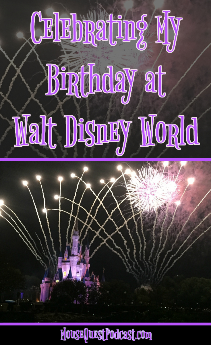 Celebrate Birthday at Walt Disney World