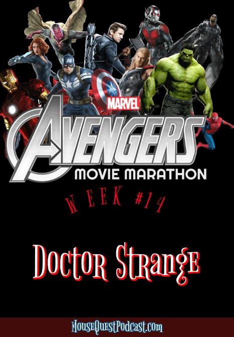 Marvel Movie Marathon Doctor Strange