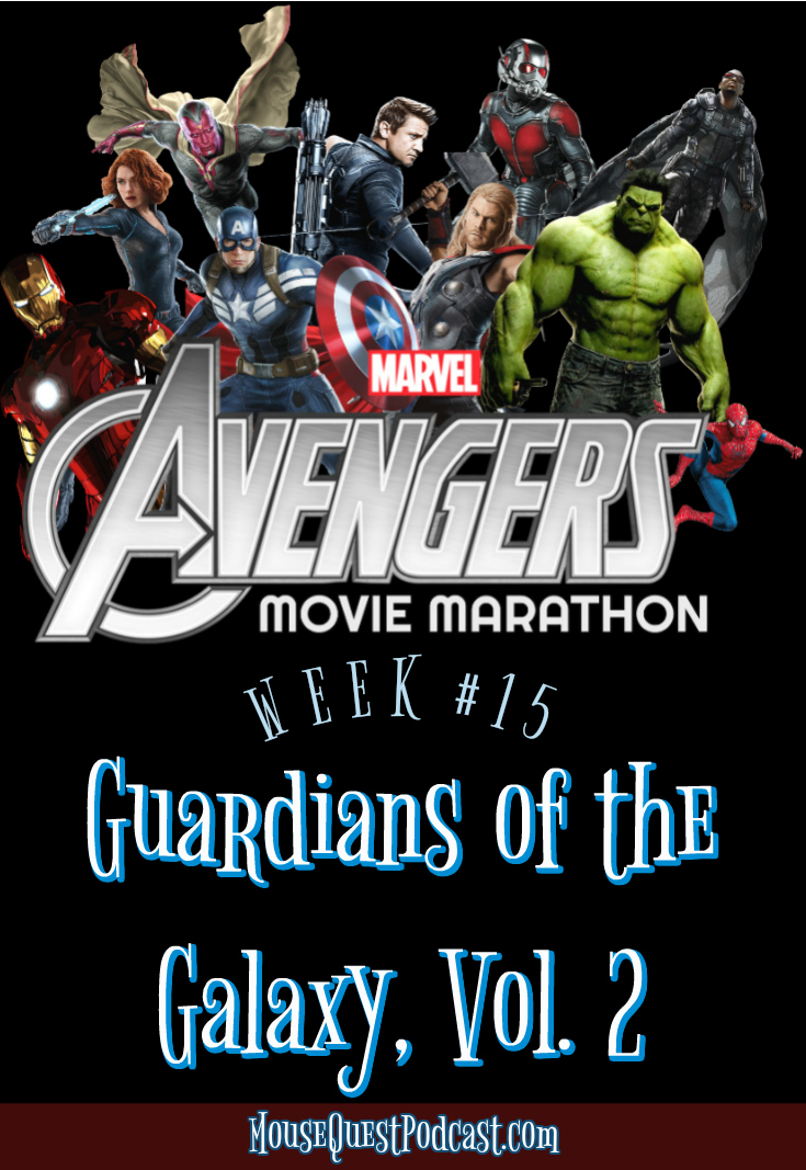 Marvel Movie Marathon Guardians