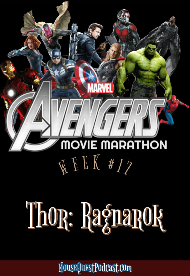 Marvel Movie Marathon Thor Ragnarok