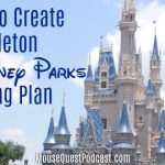 Creating a Skeleton Touring Plan