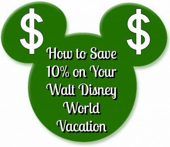 Save 10% on Walt Disney World Vacation