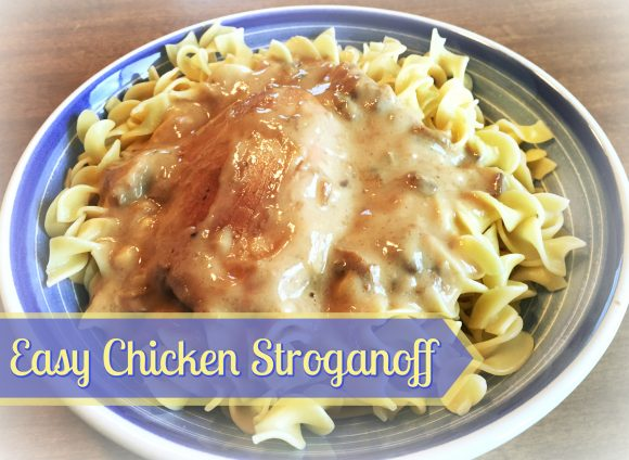 Easy Chicken Stroganoff