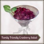 Family Friendly Cranberry Salad