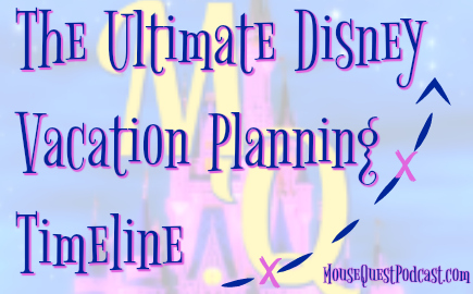 Ultimate Disney Vacation Timeline
