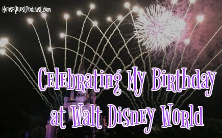 Celebrate Birthday at Walt Disney World