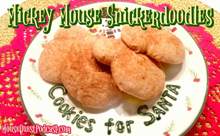 Mickey Mouse Snickerdoodles
